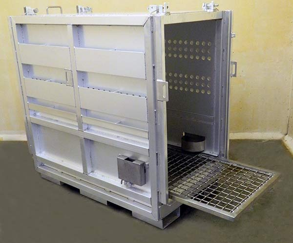 Transfer Restraint Cages And Shipping Crates For Animals